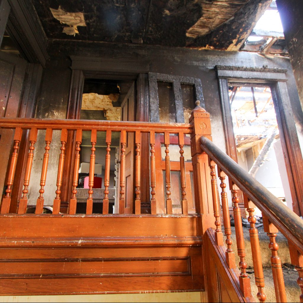 Fire Damage in Home