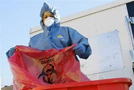 biohazard and medical cleanup bag