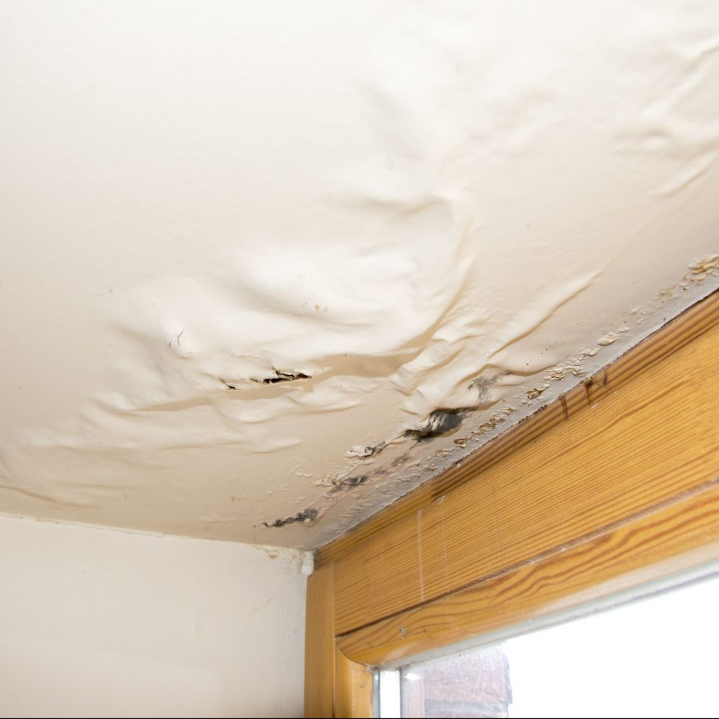Home Ceiling Damage Caused by Water